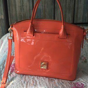 Dooney & Bourke Patent Leather domed satchel
